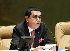 General Assembly President Nassir Abdulaziz Al-Nasser. UN Photo/Paulo Filgueiras.